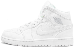 "Кроссовки Air Jordan 1 Mid ""Triple White"", 44"