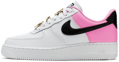 "Кроссовки Nike Air Force 1 '07 SE ""White/Black-China Rose"", 40"