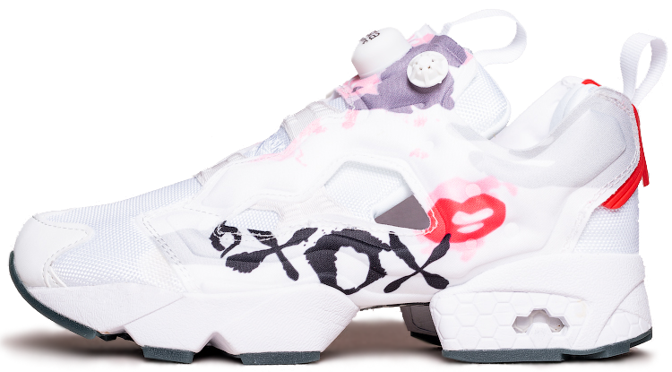 "Женские кроссовки Reebok Instapump Fury Celebrate XOXO Valentines Day ""White"", 37"