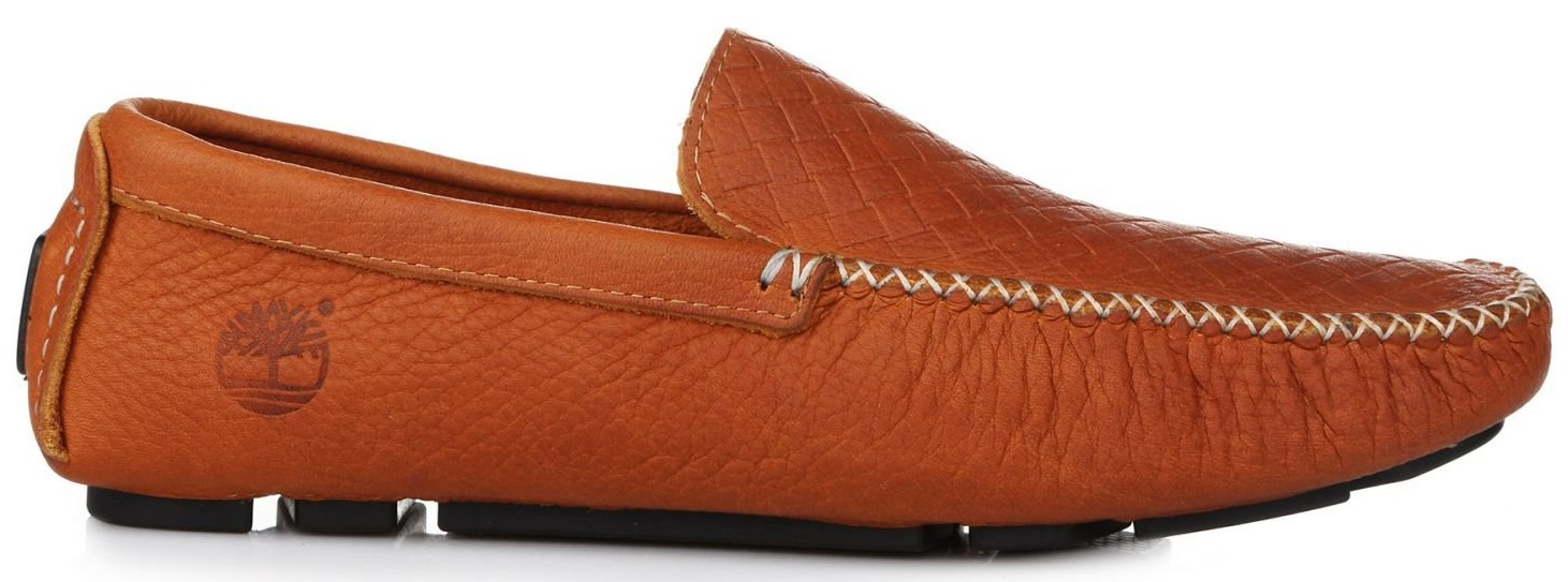 "Мужские мокасины Timberland Moccasin Leather ""Chestnut"", 44"