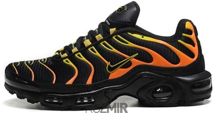 7c52ade3 В наличии. 1 отзыв. Мужские кроссовки Nike Air Max TN Plus Black/Orange ...