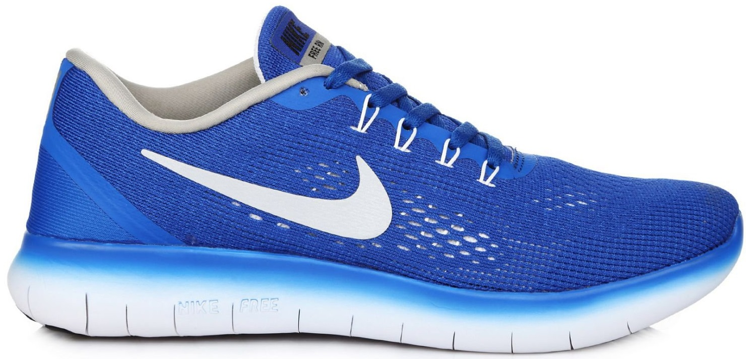 "Мужские кроссовки Nike Free Run Flyknit V.1 ""Blue/White"", 45"