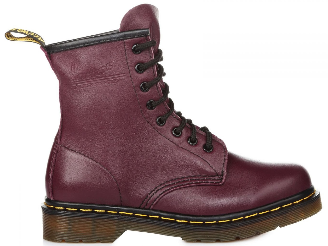 "Женские ботинки Dr. Martens 1460 Purple Smooth ""Vegan"", 40"