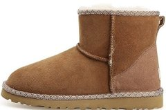 "Женские угги UGG Classic Mini Liberty ""Chestnut"", 40"