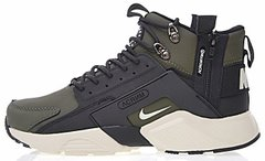 "Мужские кроссовки ACRONYM x Nike Huarache CITY MID Leather ""Olive"", 40"