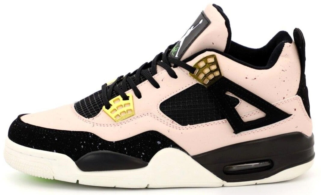 "Кроссовки Air Jordan 4 Retro ""Silt Red/Black-Phantom-Volt"", 46"