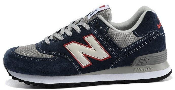 Мужские кроссовки New Balance ML574VEC Синий 117018 купить в Украине ... de96f708361