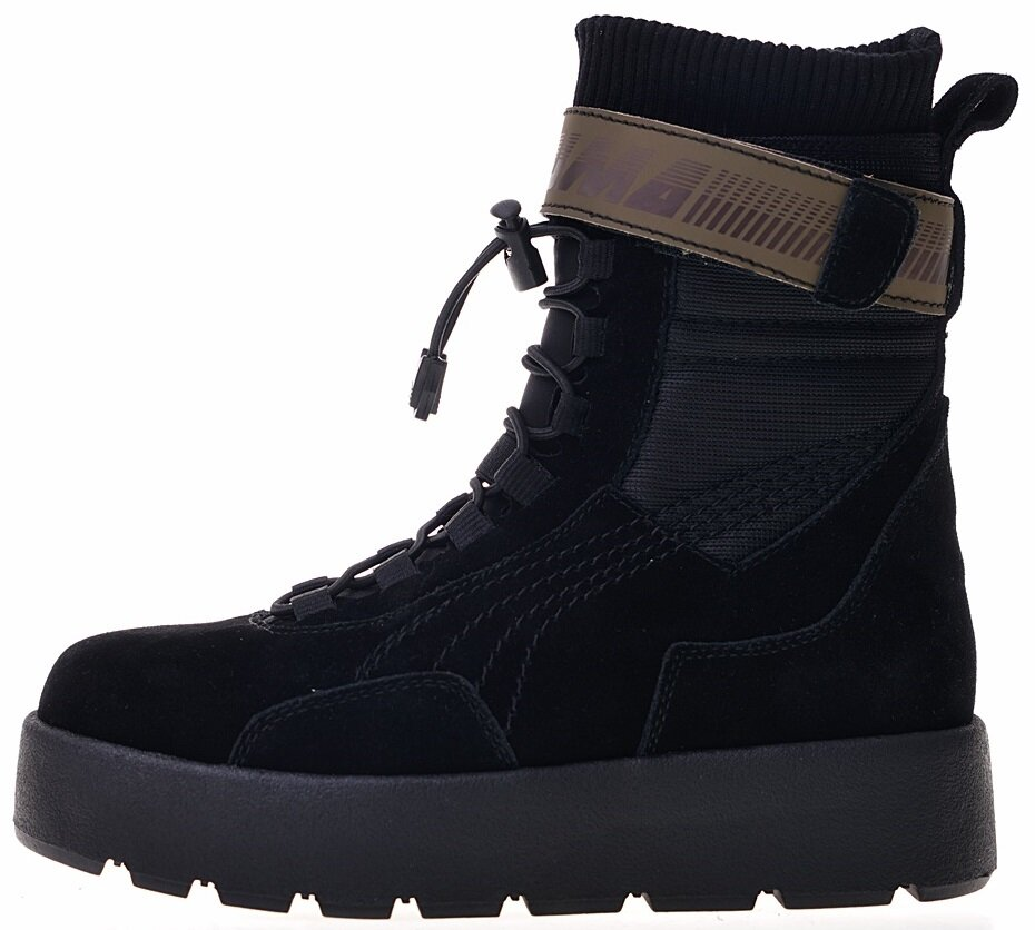 "Женские Puma x Fenty by Rihanna Scuba Boot ""Black"", 39"