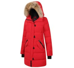 "Женская парка Canada Goose Lorette Parka ""Red"" Размер S, S"