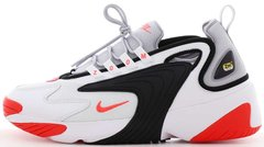 "Мужские кроссовки Nike Zoom 2K ""White / Wolf Grey / Black / Infrared 23"" AO0269-105, 45"