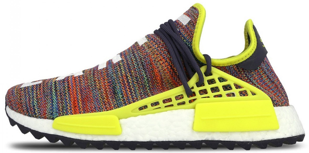 "Мужские кроссовки Adidas NMD Human Race x Pharrell Williams ""Multicolor"", 44"