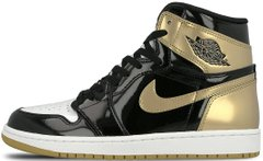 "Кроссовки Air Jordan 1 Retro 1 High OG Energy ""Black - Metallic Gold"", 40"