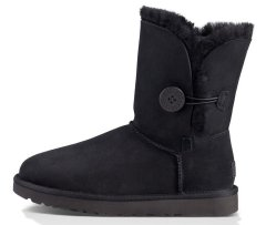 "Женские угги UGG Bailey Button ""Black"", 41"