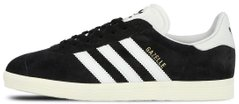 "Мужские кроссовки Adidas Originals Gazelle ""Black/White/Gold"", 45"