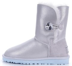 "Женские угги UGG Bailey Button I DO! ""White"", 41"
