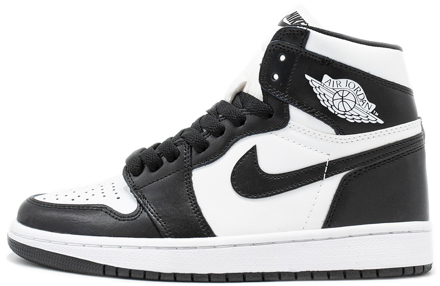 "Кроссовки Air Jordan 1 Retro High OG ""White/Black"", 40"