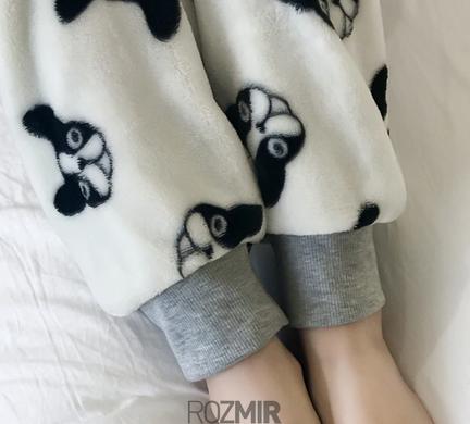 Купить Жіноча тепла сіра піжама Sleepy Doggie