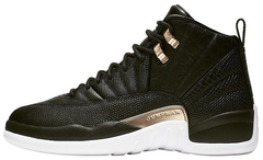 "Кроссовки Air Jordan 12 Reptile Midnight ""Black/Metallic Gold-White"" AO6068-007, 45"
