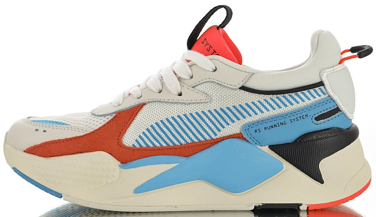 208e3282 Мужские кроссовки Puma RS-X Reinvention Whisper White / Red Blast 369579-01,