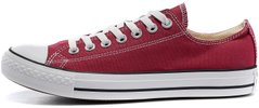 "Кеды Converse Chuck Taylor All Star Low ""Bordo"", 39"