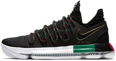 Баскетбольные кроссовки Nike KD 10 BHM Black History Month Black/Multi-Color, 43