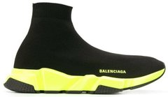 "Кроссовки Balenciaga Speed Trainer ""Black/Yellow"" 567042W05G01000, 36"