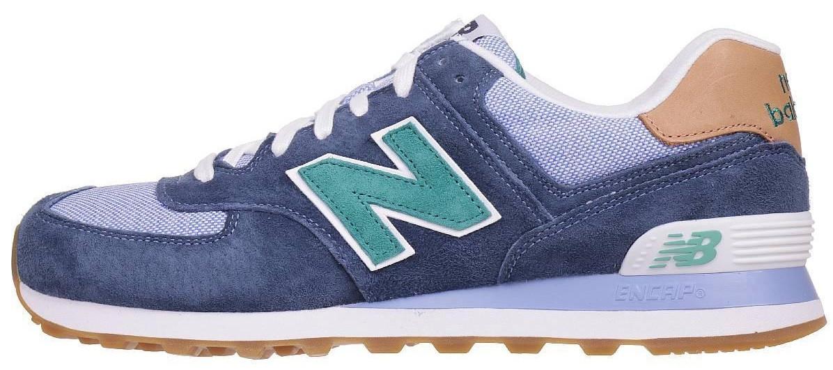 Мужские кроссовки New Balance ML 574 PIA Синий 116454 купить в ... 6b12d1ca9751c