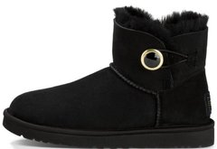 "Женские угги UGG Mini Bailey Button Ornate ""Black"", 41"