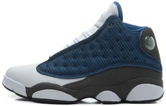 "Баскетбольные кроссовки Air Jordan 13 Retro ""French Blue/Flint Grey/White"", 45"