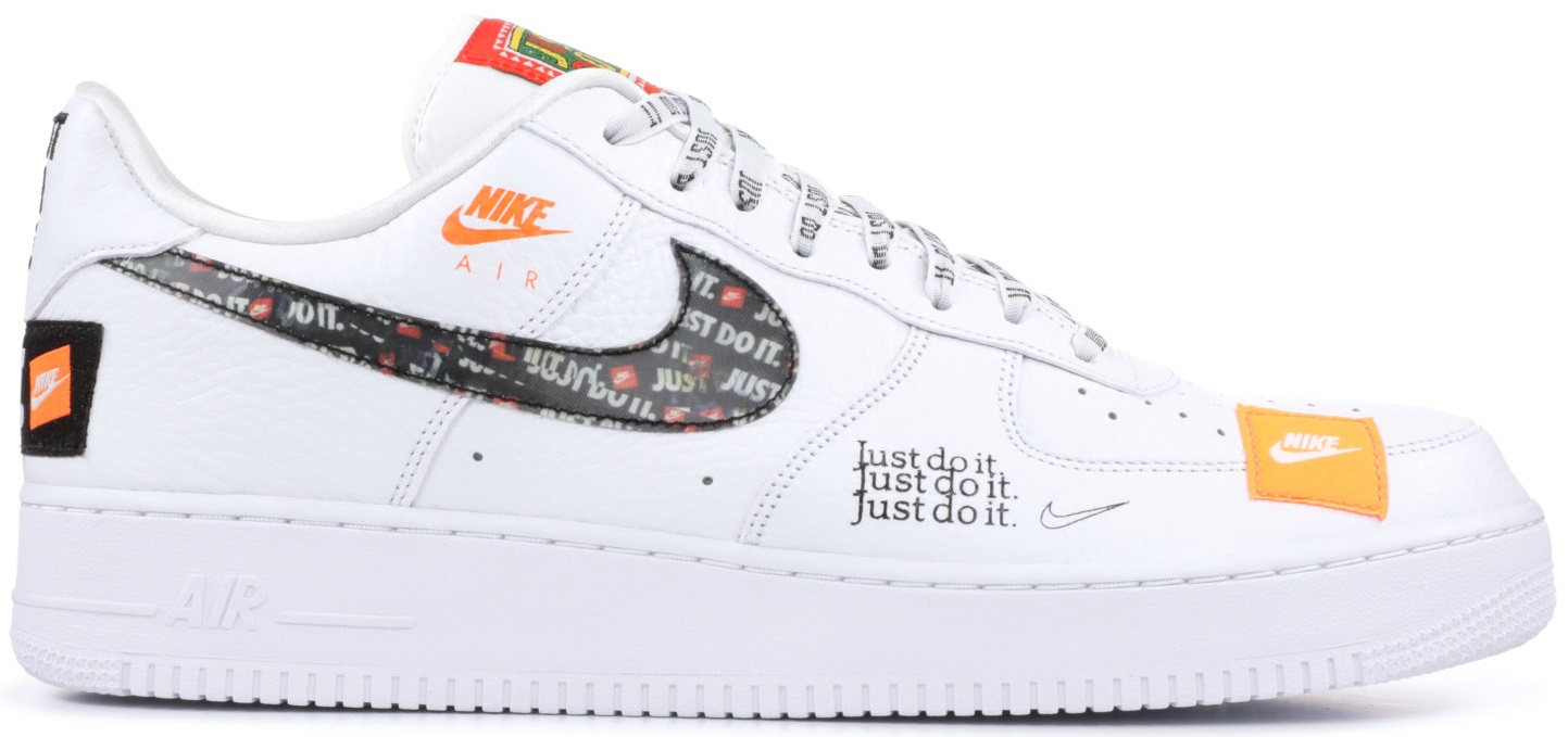 "533d7a9c Мужские кроссовки Nike Air Force 1 '07 Premium ""Just Do It"" White ..."