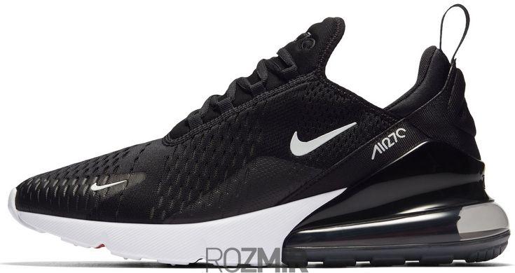 Мужские кроссовки Nike Air Max 270 Black White Черный AH8050-002 ... afd7d3615aeed