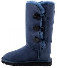 "Женские угги UGG Bailey Button Triplet ""Navy Blue"", 39"