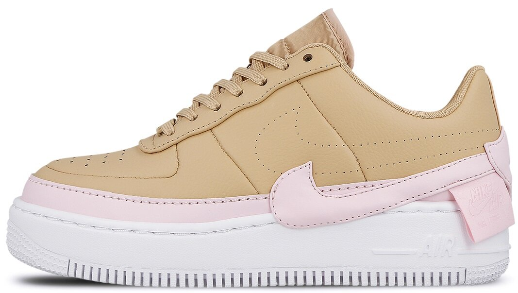 "Женские кроссовки Nike Air Force 1 Jester XX ""Beige / Pink Force - White"", 40"