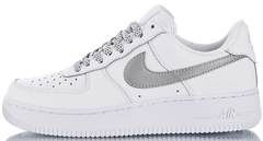 "Кроссовки Nike Air Force 1 Low 3M Static Reflective ""White/Wolf Grey"", 44"