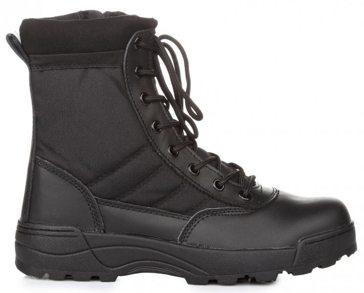 "Армейские берцы Original S.W.A.T. Classic 9"" Comp Toe Side Zip Work Boot, 45"