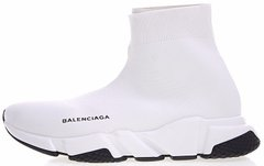 "Кроссовки Balenciaga Speed Trainer ""White/Black"", 45"