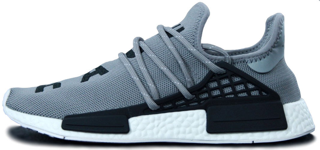 "Мужские кроссовки Adidas Pharrell Williams Human Race NMD ""Grey/Black"", 44"