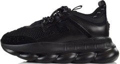 "Кроссовки Versace Chain Reaction Sneaker Triple ""Black"", 45"