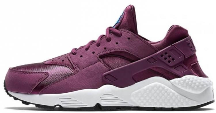"""0e4a87c9 Женские кроссовки Nike Air Huarache """"Mulberry"""" Фиолетовый F411 ..."""