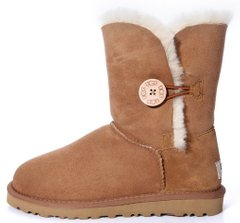 "Женские угги UGG Bailey Button ""Chestnut"", 40"