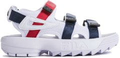 "Сандалии FILA Disruptor Sandals ""White/Red/Blue"", 37"