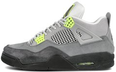 "Кроссовки Air Jordan 4 Retro SE 95 Neon ""Cool Grey/Volt/Wolf Grey/Anthracite"", 45"