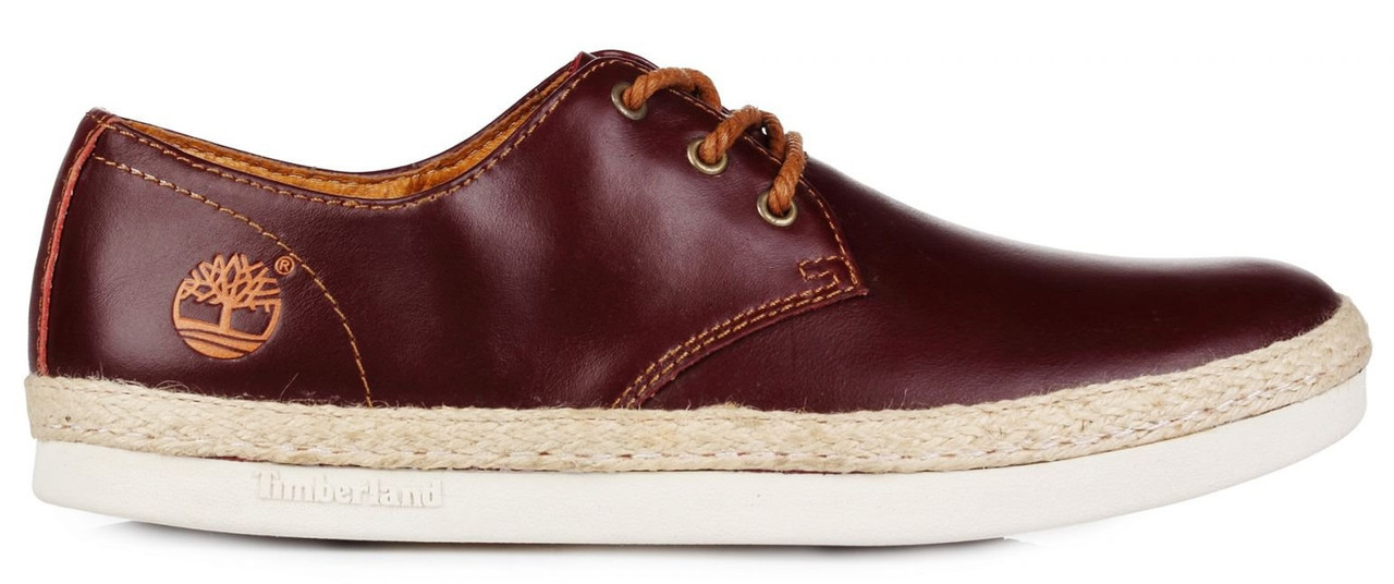 "Мужские кеды Timberland Leather Keds ""Red"", 44"