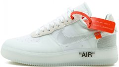 "Кроссовки OFF-WHITE x Nike Air Force 1 Low ""White"""