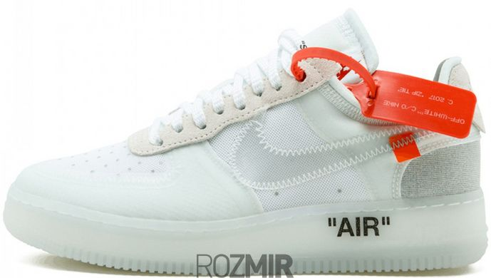 8996e49d Кроссовки OFF-WHITE x Nike Air Force 1 Low