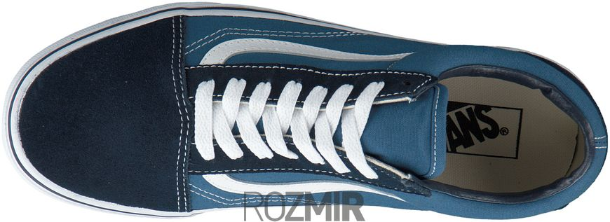 "Кеды Vans Old Skool Suede Canvas ""Navy/White"""