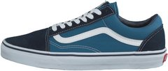 "Кеды Vans Old Skool Suede Canvas ""Navy/White"", 41"