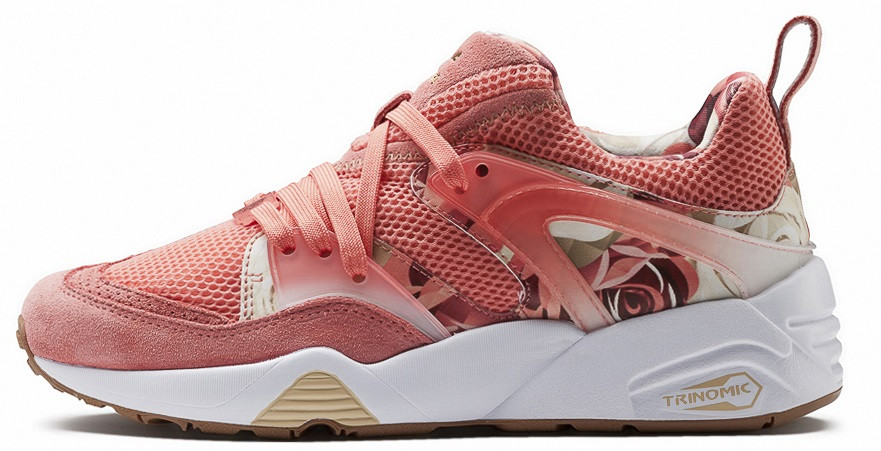 "Женские кроссовки Puma Blaze Of Glory x Careaux x Graphic ""Porcelain Rose"", 40"