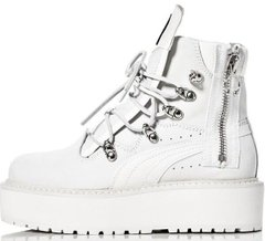 "Женские Puma x Fenty by Rihanna Women SB Boot ""White"", 41"