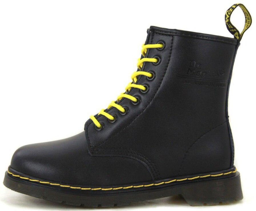"Ботинки Dr. Martens 1460 ""Full Black"" без меха, 45"